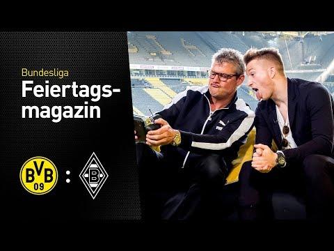 Matchday magazine with Marco Reus | Borussia Dortmund - Borussia Mönchengladbach