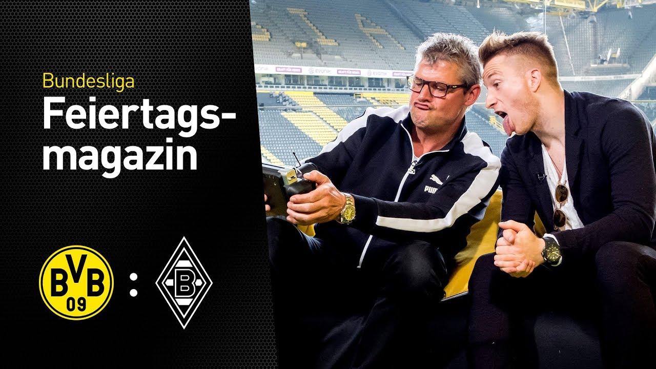 Das Feiertagsmagazin vor dem 6. Spieltag mit Marco Reus | BVB - Mönchengladbach