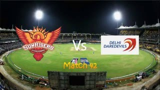 IPL Sunrisers Hyderabad vs Delhi Daredevils match highlights 12 may 2016 SRH vs DD