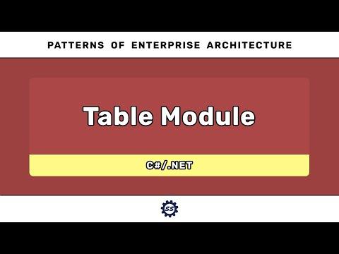 table-module-(c#)---patterns-of-enterprise-architecture