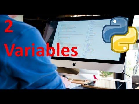 Variables - 2 - Python tutorial en español thumbnail