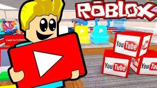 POSTAO SAM YOUTUBER ( Roblox YouTube avantura )