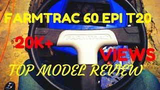 ਦੇਖੋ (reloaded) New TOP MODEL FARMTRAC 60 EPI T2O first look review
