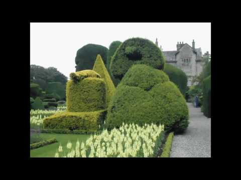 LEVENS HALL TOPIARY GARDEN.