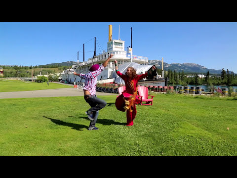 Travel Whitehorse Yukon with Bhangra by Gurdeep and Manuela