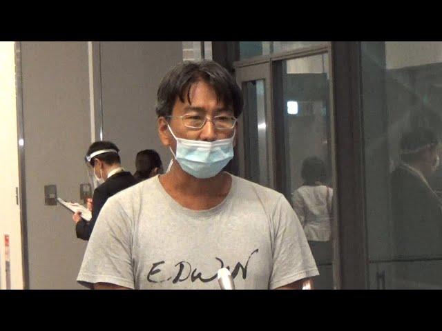 ミャンマーで拘束の日本人記者、解放 成田空港に到着