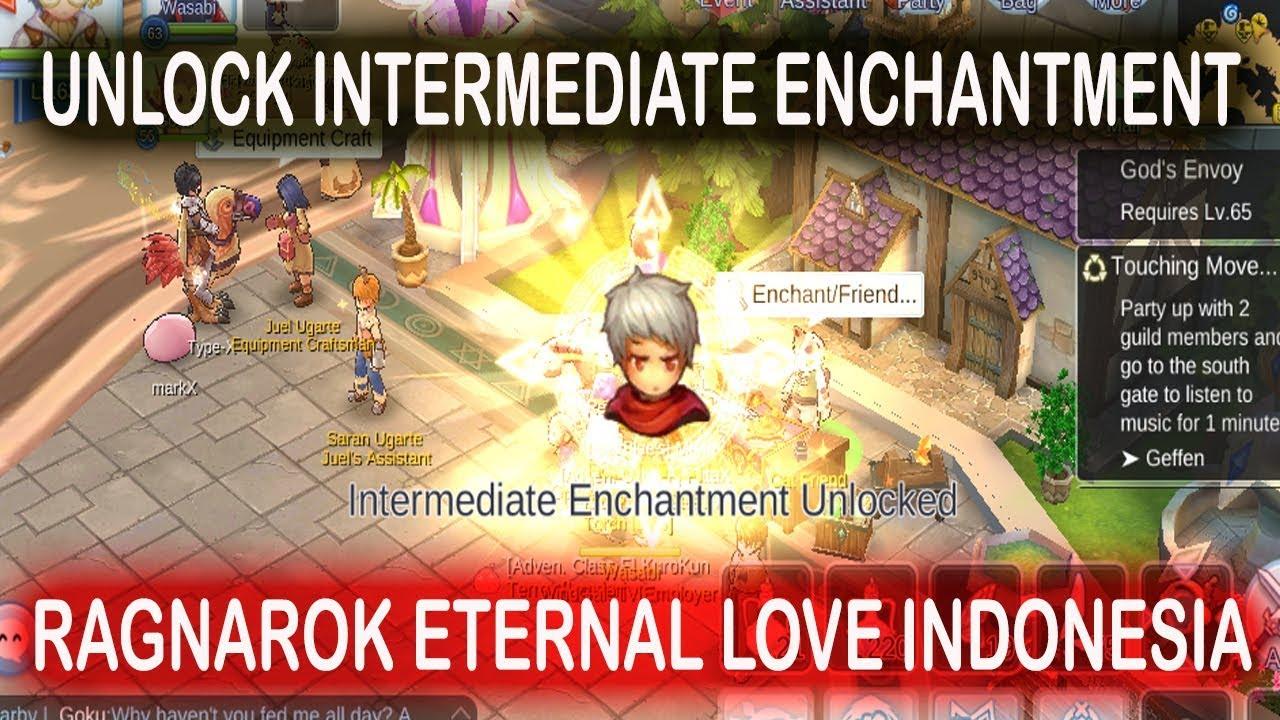 INTERMEDIATE ENCHANT QUEST RAGNAROK ETERNAL LOVE INDONESIA