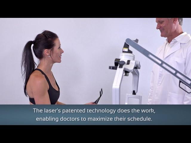 Erchonia FX 635 Laser Sizzle Video Back Pain & Heel Pain