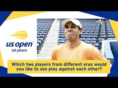 US Open Yesterday And Today: What Is Your Ultimate US Open Matchup?