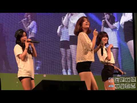 140717 Hyunyoung - Rainbow  Tell Me Tell Me @ K. Will Youngstreet