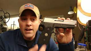 Sig Sauer P-225 A1 initial review (the gun you should buy but probably don't need)