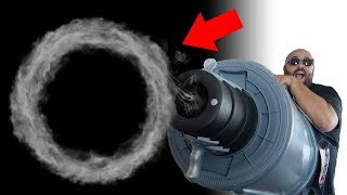 How To Make GIANT Magic Smoke Rings!