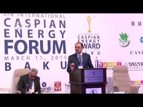 Elman Mehdiyev - Caspian Energy Forum - Baku 2015-eng