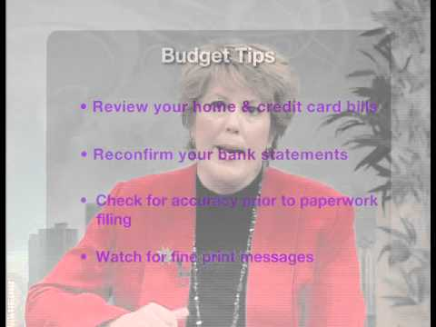 How do you establish a monthly home budget? Etta Money explains