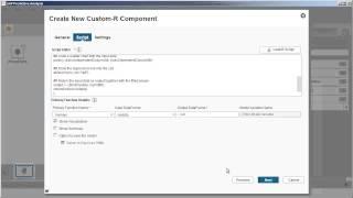 إنشاء مخصص R المكون: SAP التحليل التنبؤي 1.14