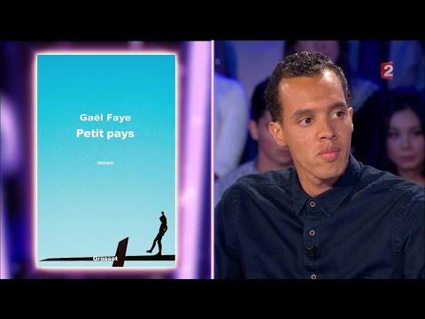 Gael Faye - On n'est pas couché 24 septembre 2016 #ONPC