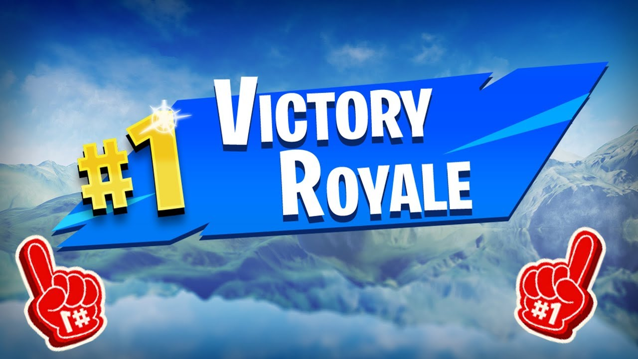 How To Make The New 1 Victory Royale Png