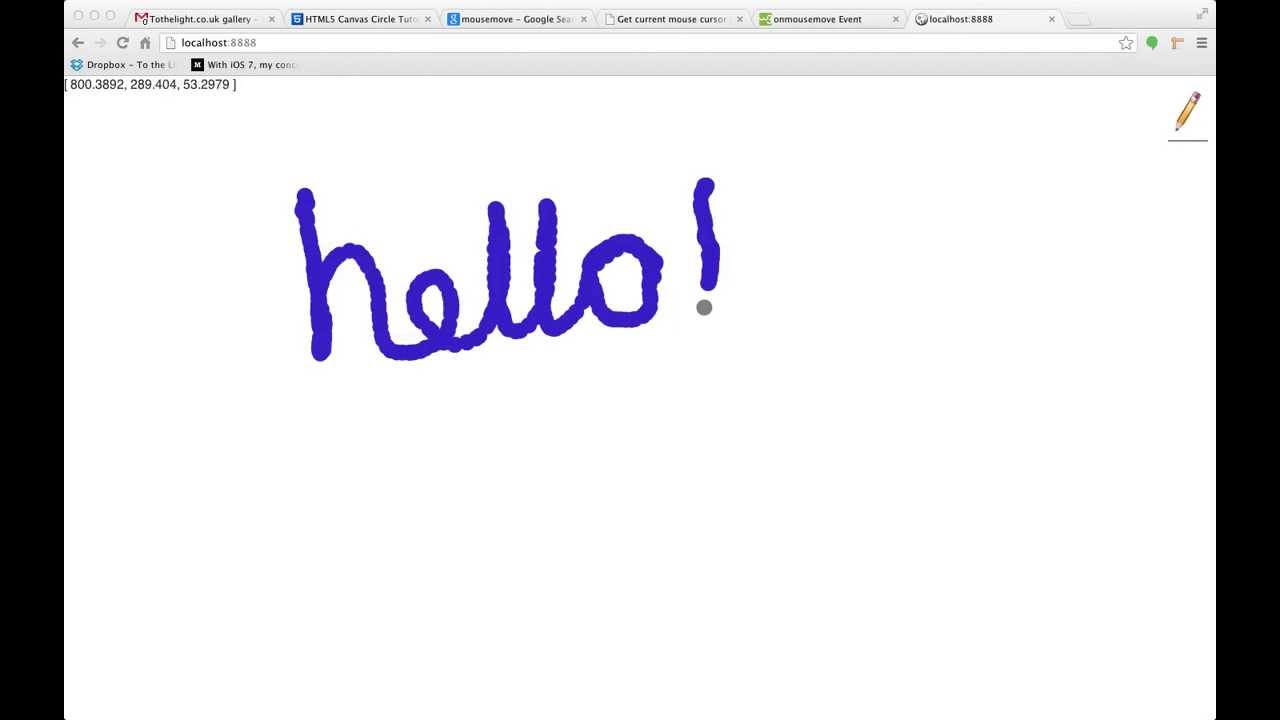 Line Drawing In Html : Drawing with a leap motion and html 5 canvas screen recording