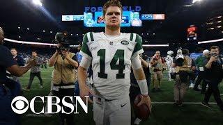 Jets rookie quarterback Sam Darnold shines in debut