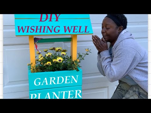 diy-mini-wishing-well-garden-planter