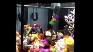 Claw machine win with funny look Thumbnail