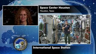 Space Station Crew Member Discusses Life in Space with Educators