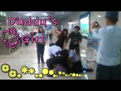 Spoiled Chinese Girl Says Her Daddy Will Kill You