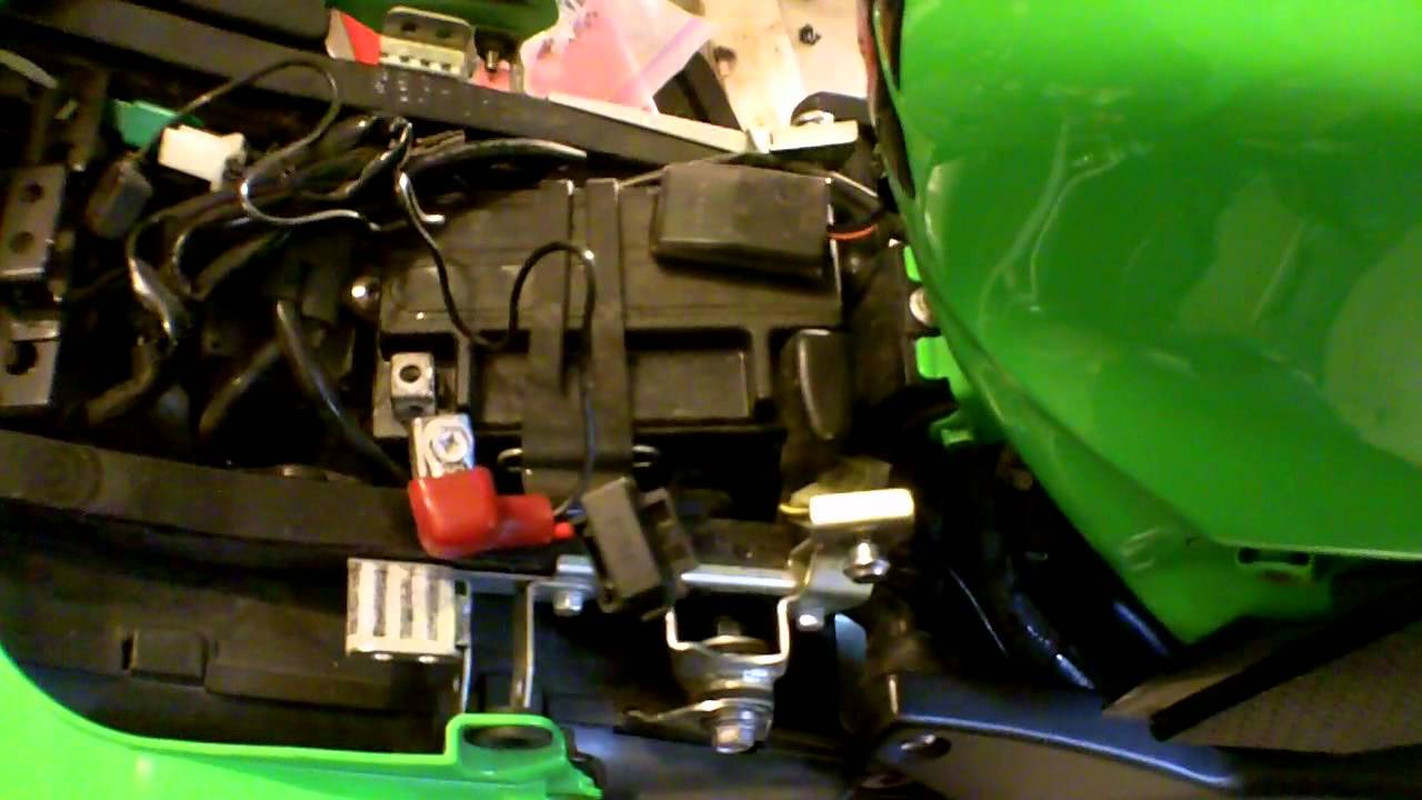 hight resolution of electrical tips for wiring up your motorcycle and a quick ninja update