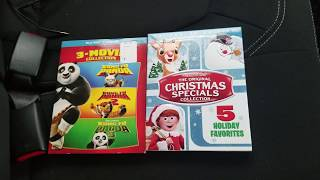 Kung Fu Panda Movie Collection and The Original Christmas Classic Collection Blu-ray Unboxing