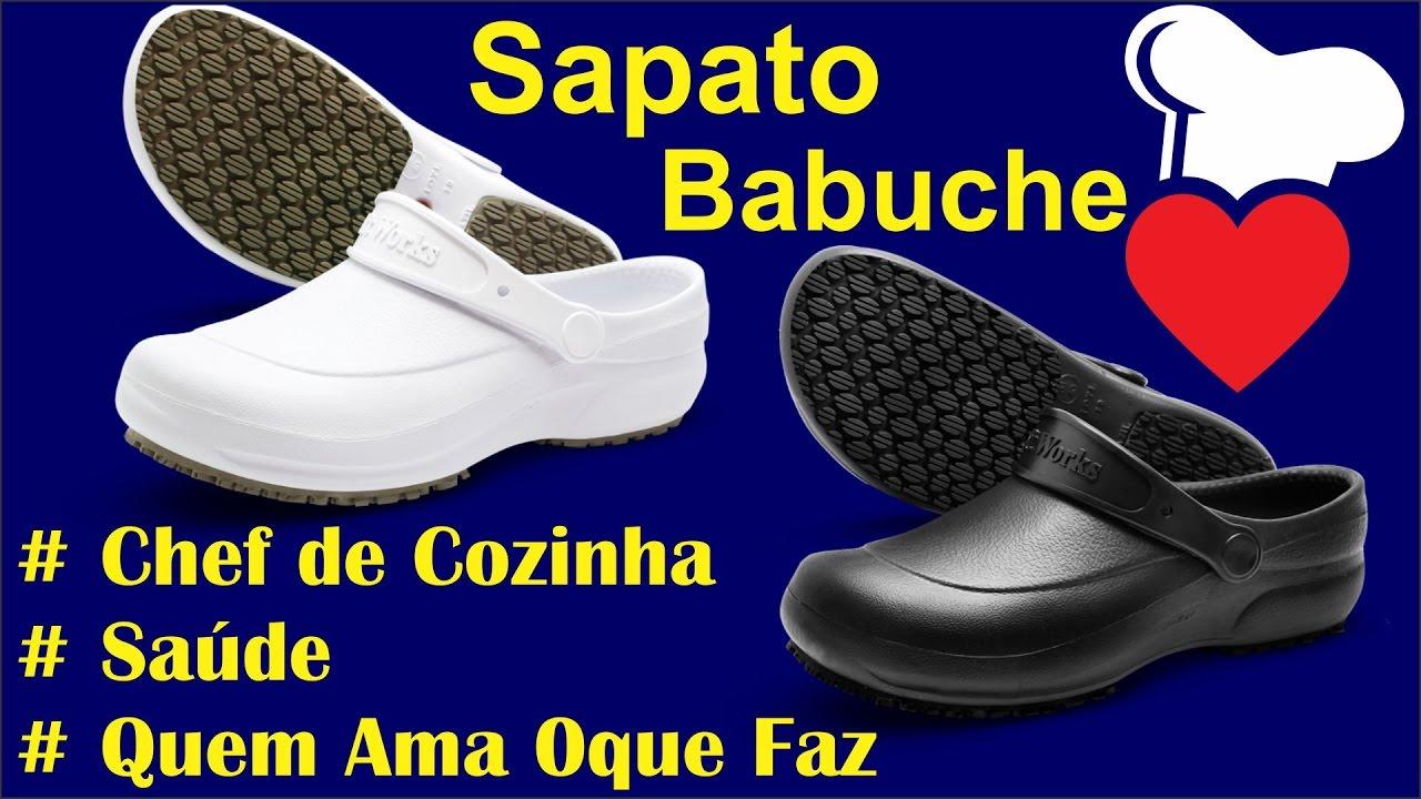 fbb1ce7370 Sapato soft Works babuch BB 60 Chef de cozinha Clínicas de Saúde e Idósos. WP  Connect