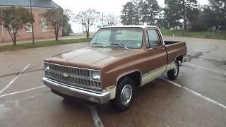 1981 Chevrolet C10 Custom Deluxe Test Drive