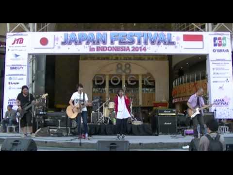 Akairo - Egao (Ikimono Gakari cover) @ Japan Festival in Indonesia
