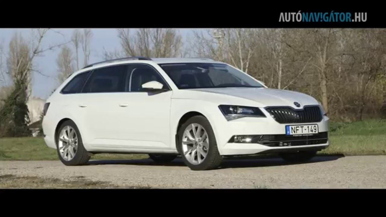 skoda superb combi style 2 0 tdi dsg teszt youtube. Black Bedroom Furniture Sets. Home Design Ideas