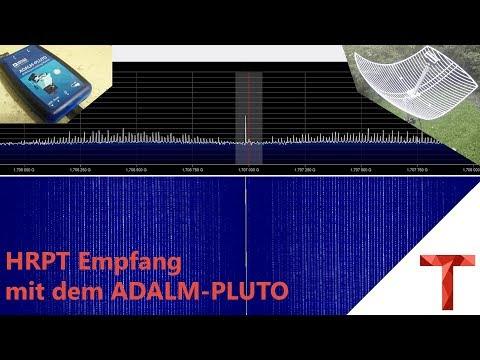 [EN subs] Empfang von HRPT mit dem ADALM-PLUTO SDR - NOAA18