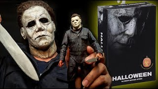 """Michael Myers Unboxing Michael Myers! NECA Ultimate 7"""" Scale (Halloween 2018)"""