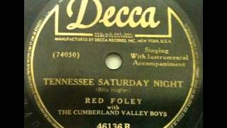 Watch Red Foley Tennessee Saturday Night video