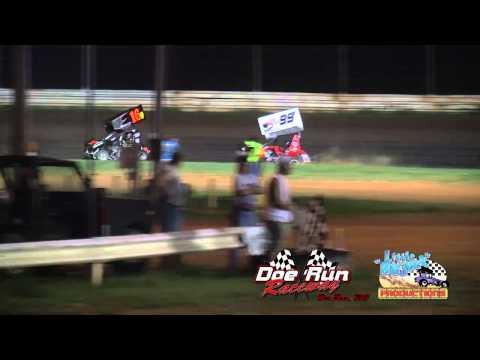 600cc Micro Sprints / Doe Run Raceway / 20 Lap A-Main / July 15th, 2011