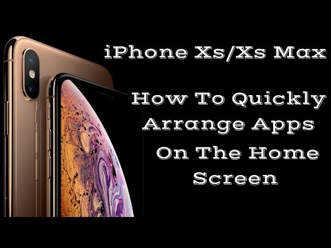 How to put apps in folder on iphone xr