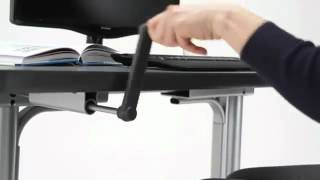 Humanscale's Height Adjustable Float Table