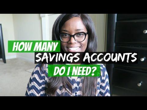 How many Savings accounts do I need? | Debt Free Friday