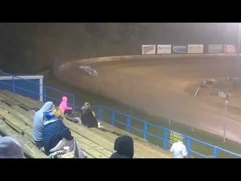 Super late models feature race at Florence speedway 9/30/17