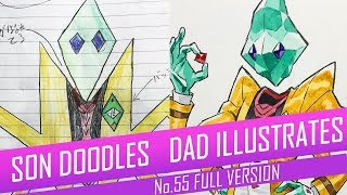 DRAWING with my kids - CRYSTAL GENTLEMAN [FULL VERSION] No.55