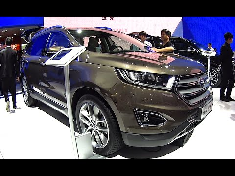 Ford Edge Launched On The Chinese Car Market Ford Edge