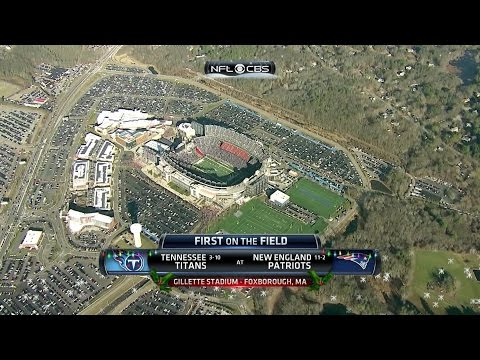 NFL on CBS - 2015 Titans vs Patriots - First on the Field & Game Intro