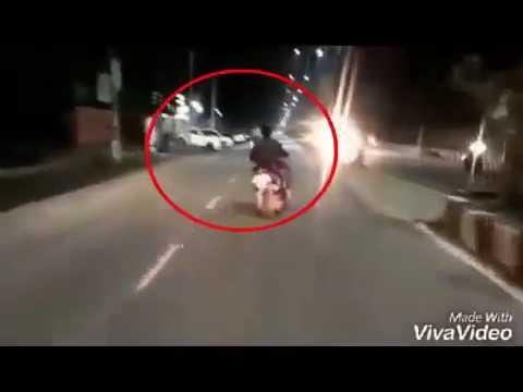 Dangerous stunt riding in Guwahati, netizens condemning the task