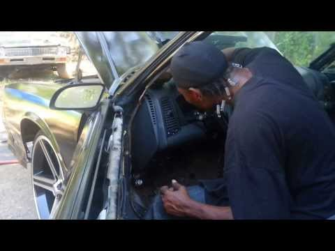 D-Dash Monte Carlo SS Cadillac Dash And Ls Swap On 26's