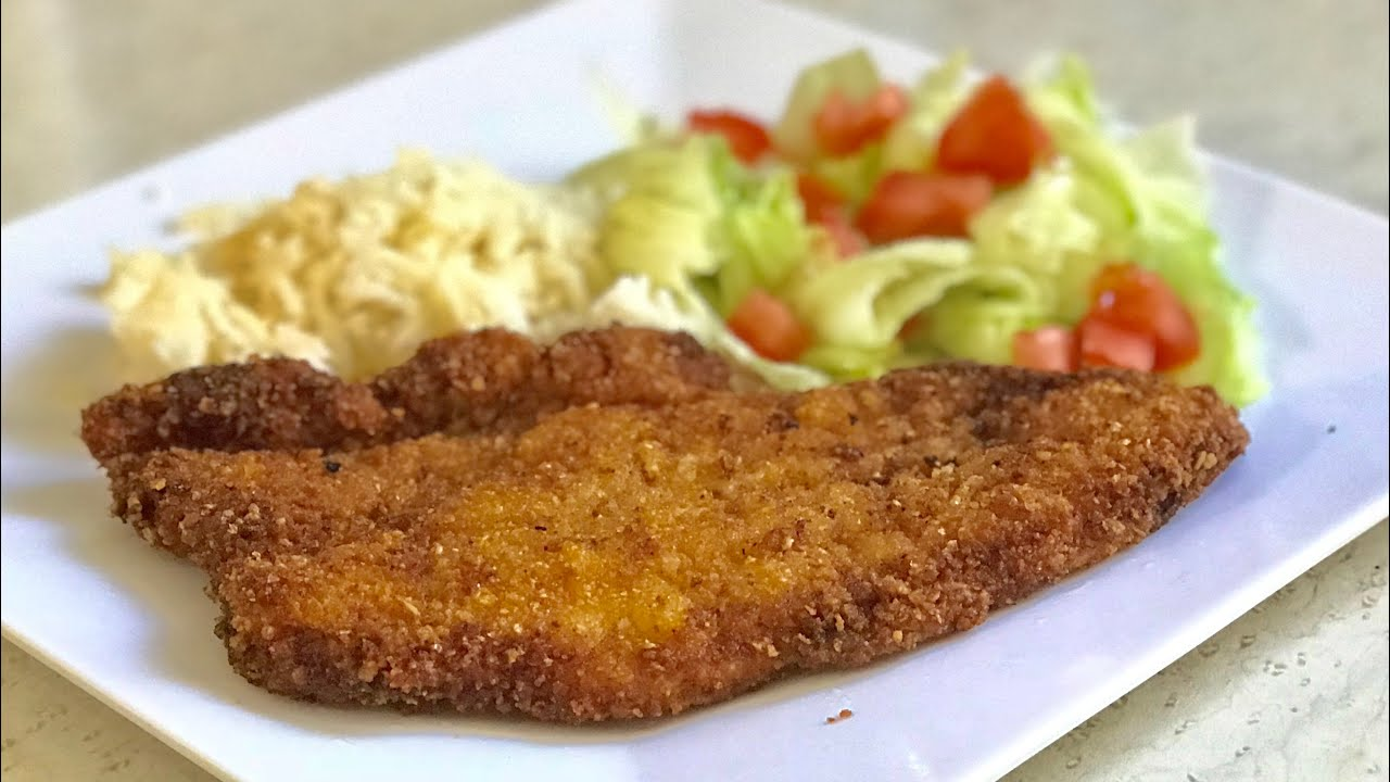 Filete De Pescado Empanizado - Bien Crujiente