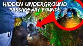 Hidden underground passage found! WHAT SECRETS LIE INSIDE... LET'S GO EXPLORE!!