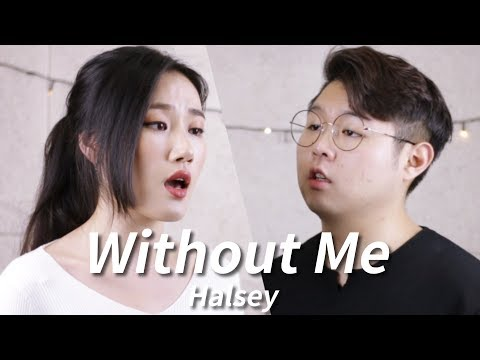 Halsey - Without Me. Acoustic Cover by Highcloud (With Lyrics)