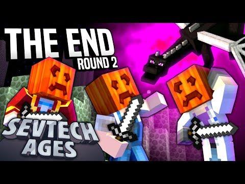 Minecraft: SevTech - THE END ROUND 2 - Age 4 #11
